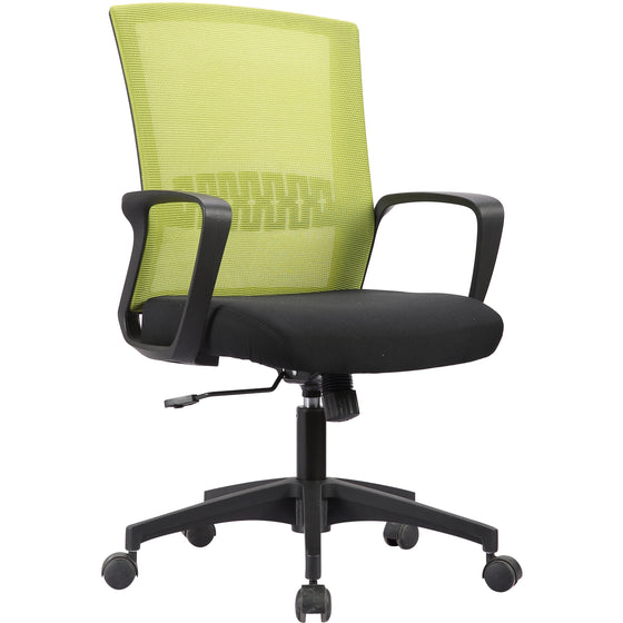 Haley II Ergonomic Mesh Task Chair, Kelly Green