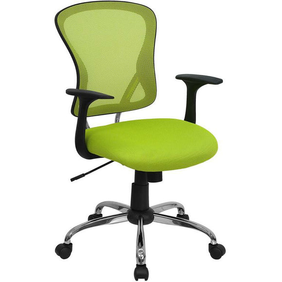 Mid-Back Mesh Swivel Task Office Chair with Chrome Base