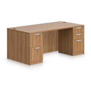 Preva Desk with Double Pedestals
