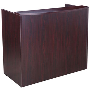 "Energy Series 48"" Reception Desk With Laminate Counter Top"