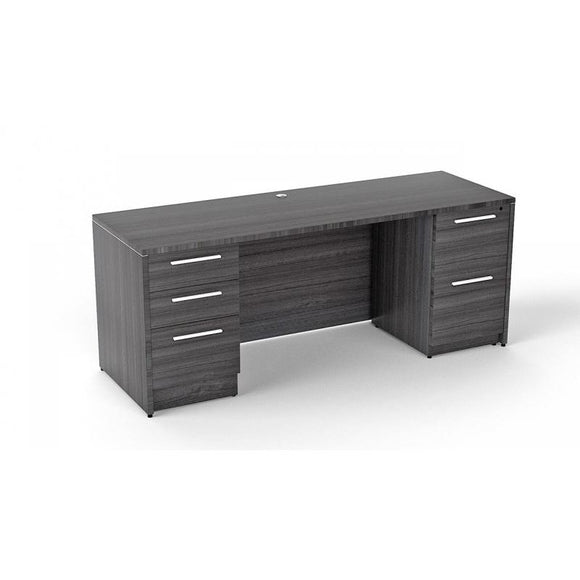 Chiarezza Double Pedestal Desk