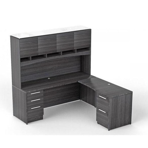 Chiarezza Credenza with Return Hutch