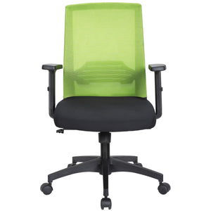 Tank Ergonomic Mesh Manager's Chair, Green