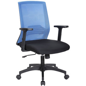 Tank Ergonomic Mesh Manager's Chair, Blue