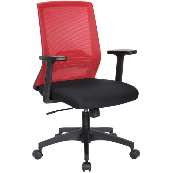 Tank Ergonomic Mesh Manager's Chair, Red