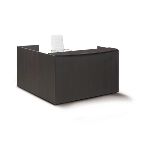 Chiarezza Laminate L-Shaped Reception Desk