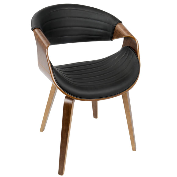 La Volna Series Dark Visitor Chair