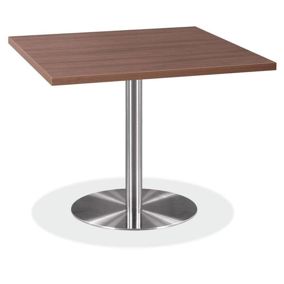 Empresario OX Reception Table, Silver Round Base