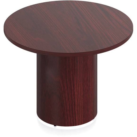 Porto Wood Veneer Round Meeting Table
