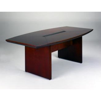 Mayline Outlet Group Corsica Conference Table, Boat-Shaped, 29 1/2