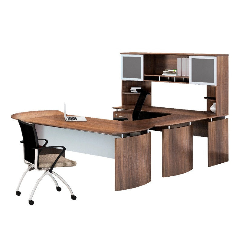 Neo Curved U-Shaped Desk Executive Office Set