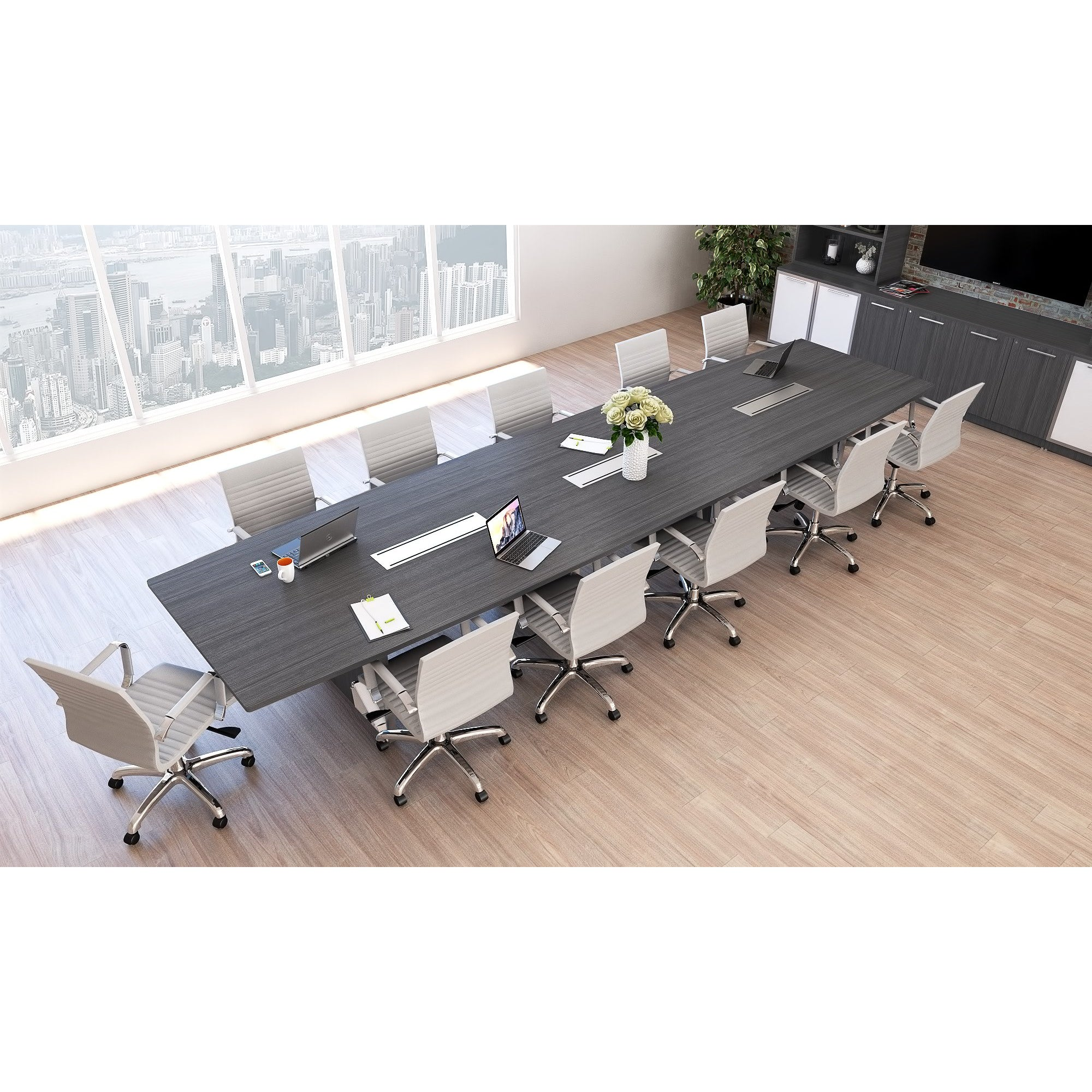 Picture of: Chiarezza Deluxe Conference Table 8 Ft 10 Ft Or 12 Ft Office Furniture 4 Sale