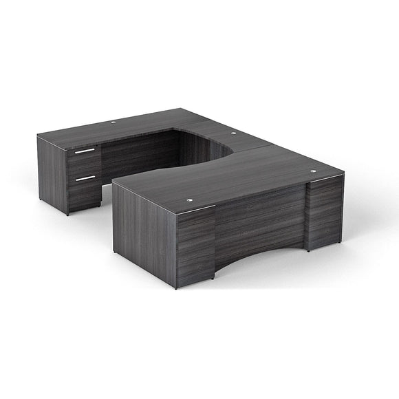 Chiarezza Double Pedestal U-Shaped Desk