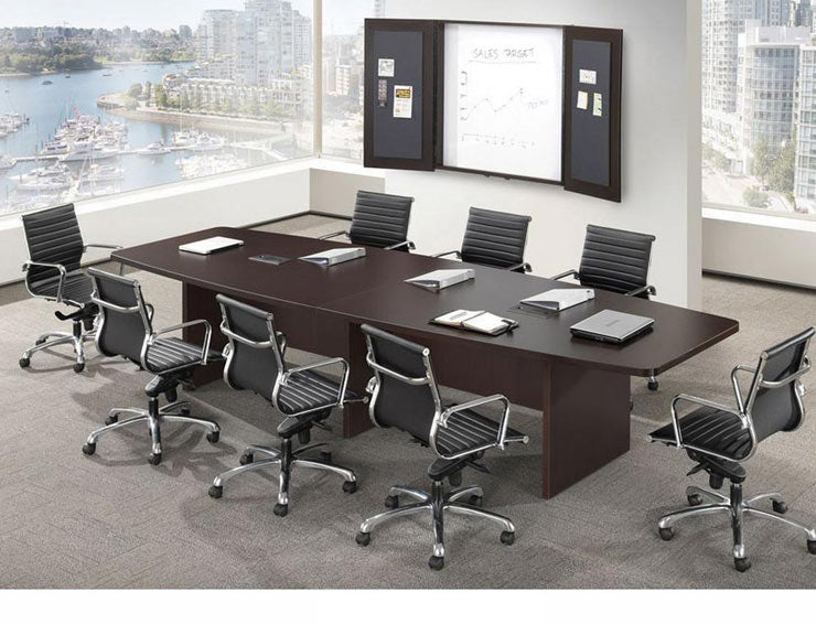 Empresario Boat Shaped Laminate Conference Table