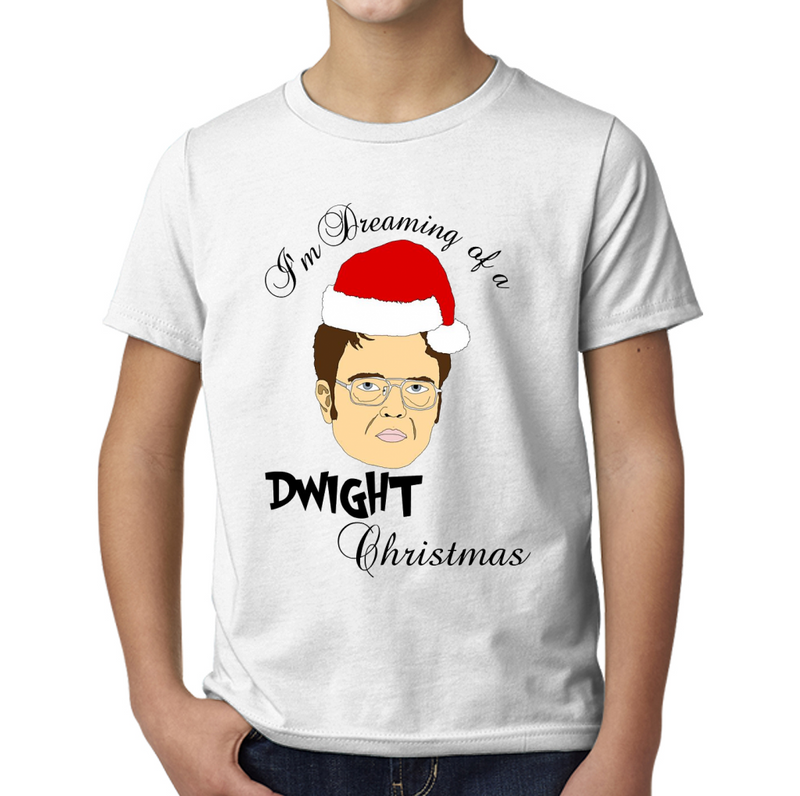Dwight Christmas.Dwight Christmas Young T Shirt