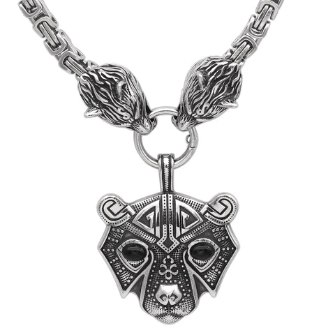 Image of Bear head necklace