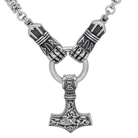 Image of Mjolni  necklace