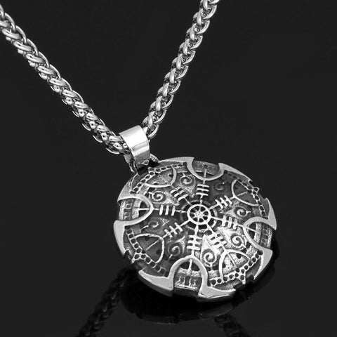 Image of Vegvisir Compass necklace