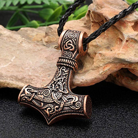 Image of Mjolnir Necklace