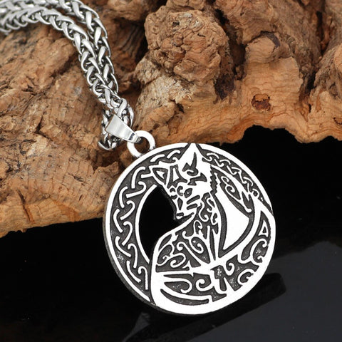 Image of fox knot  necklace