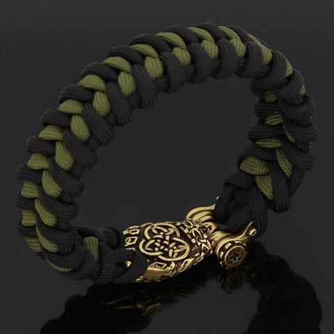 Image of Bear Paw  Rune Paracord Bracelet