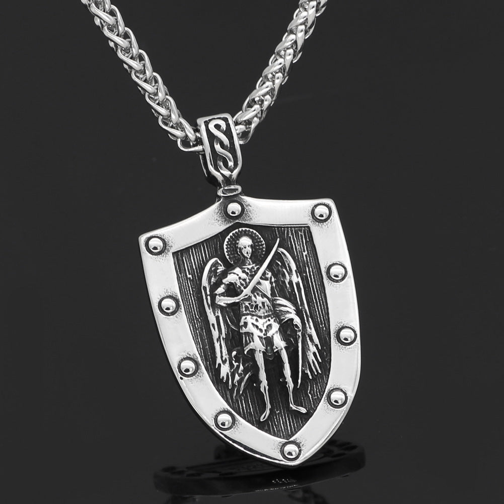 ST.MICHAEL ARCHANGEL NECKLACE Stainless Steel