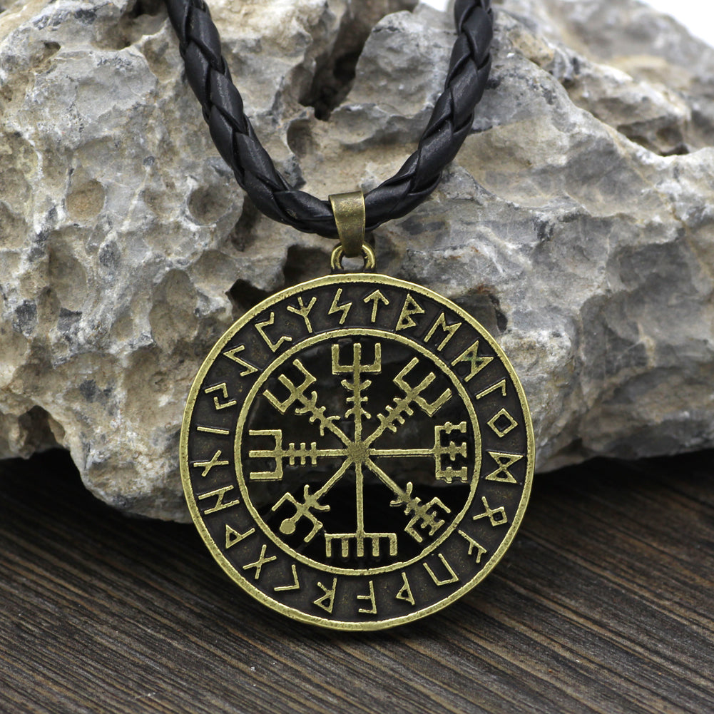 compass runes necklace