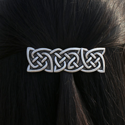 Image of Celtics Knots French Barrette Hair Pin