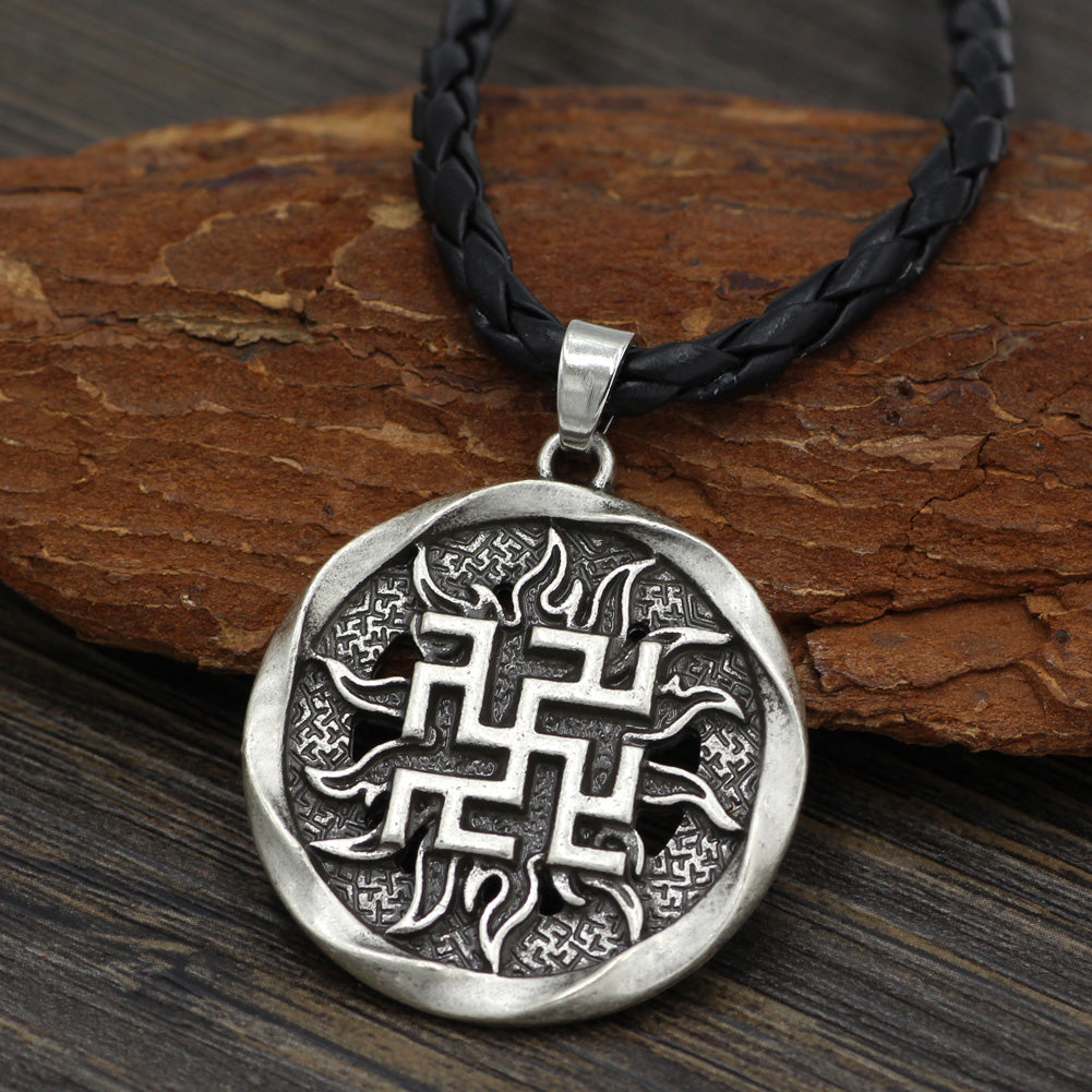 runes Valkyrie jewelry necklace