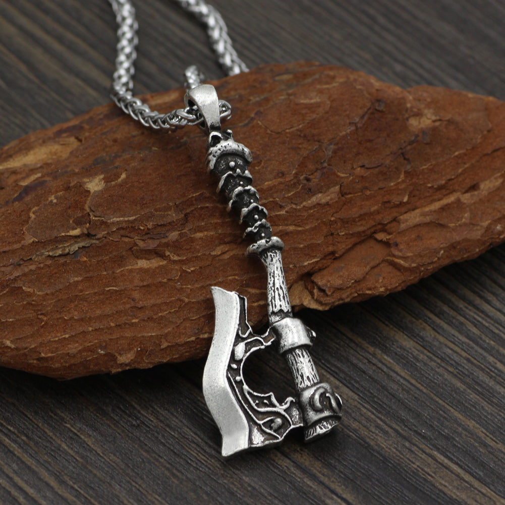 axe necklace