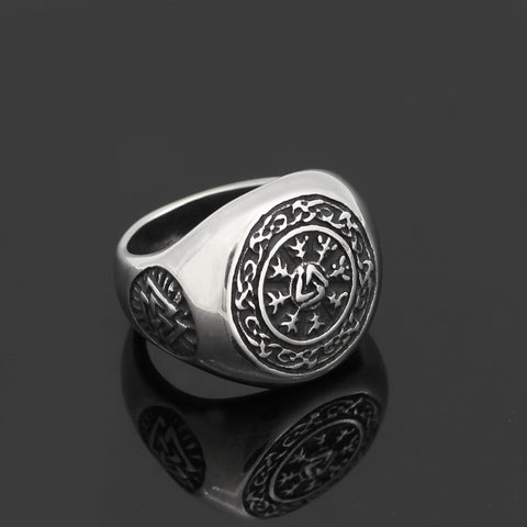 Image of valknut  ring