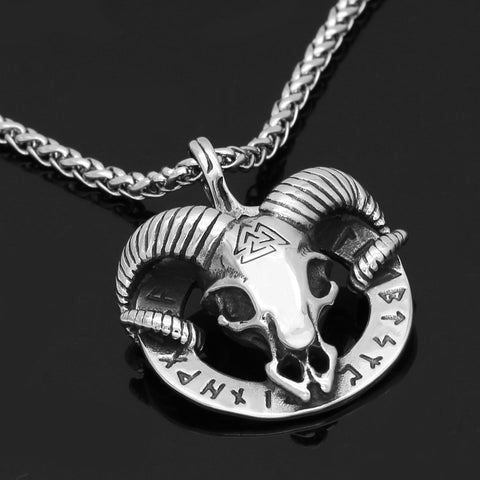 Image of goat  necklace