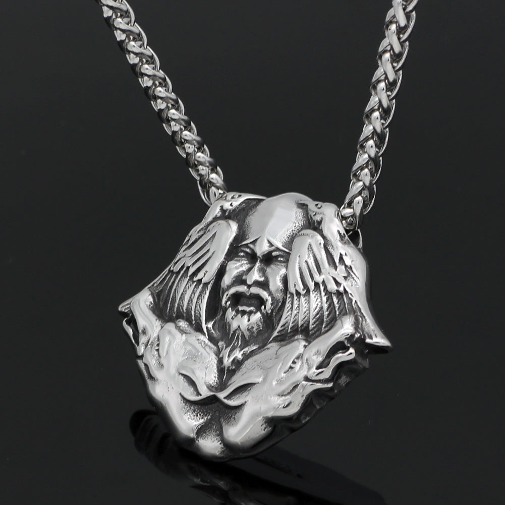 wolf Scandinavian necklace