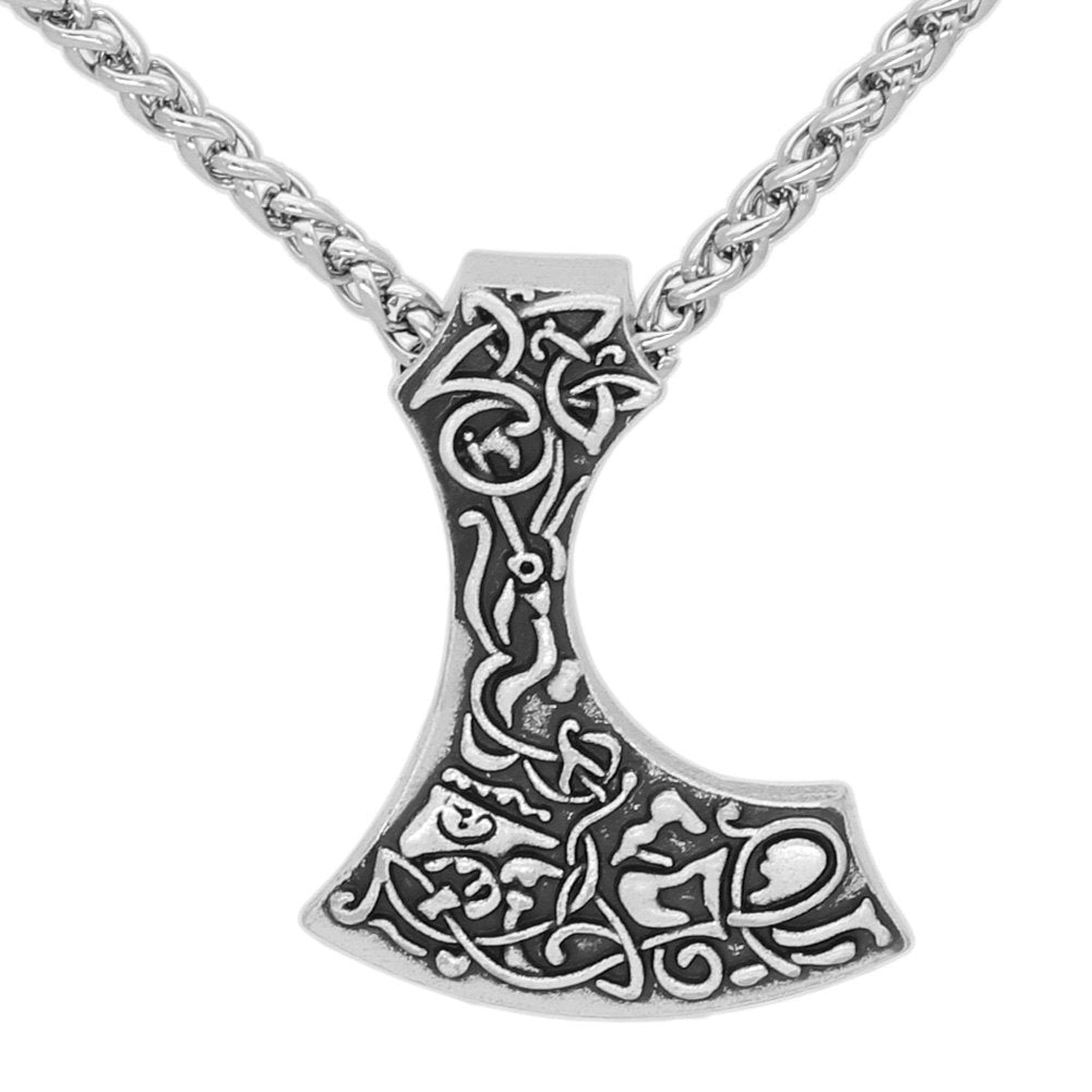 Axe pagan talisman  Necklace