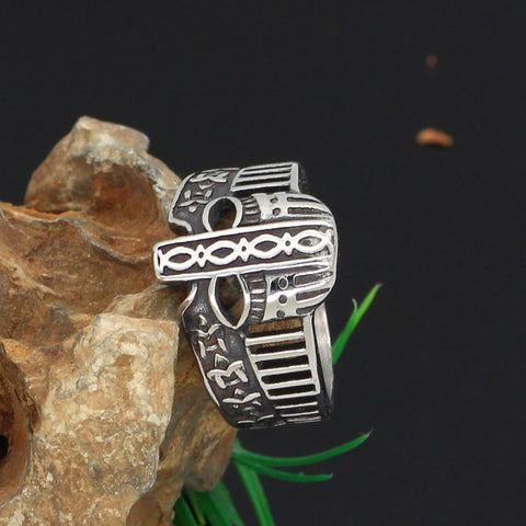 Image of helmet amulet ring