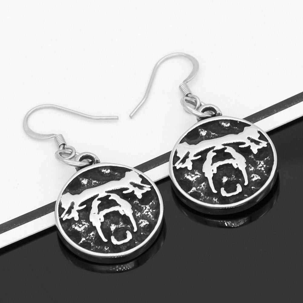 Bear Stainless steel earrings