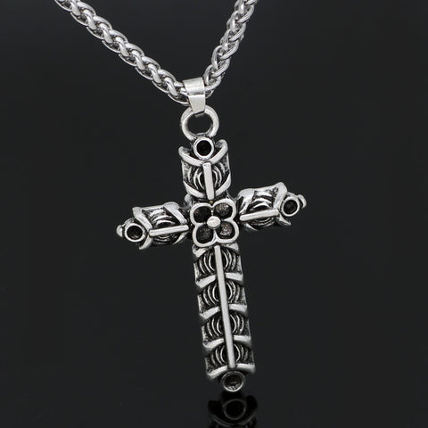 Image of Athelstan's Cross Ragnar Amulet Necklace