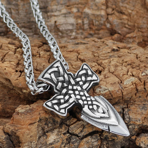 Image of Freyr Sword Amulet Stainless steel  Necklace