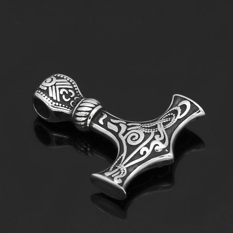 Image of Mjolnir Necklace Stainless Steel