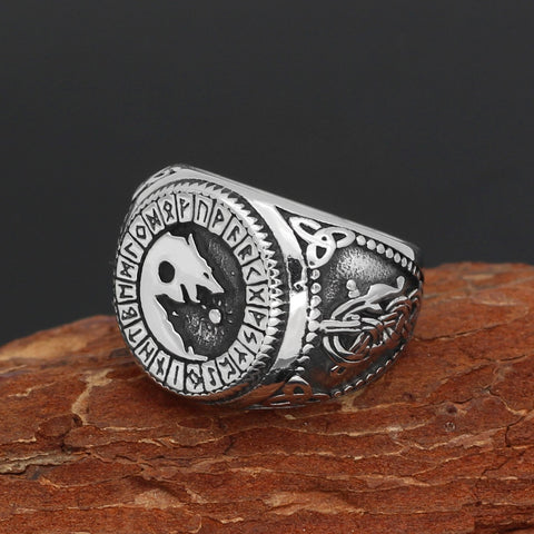 Image of Freki Rune  Ring