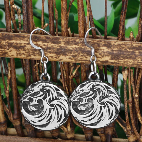 Image of Wolf earring