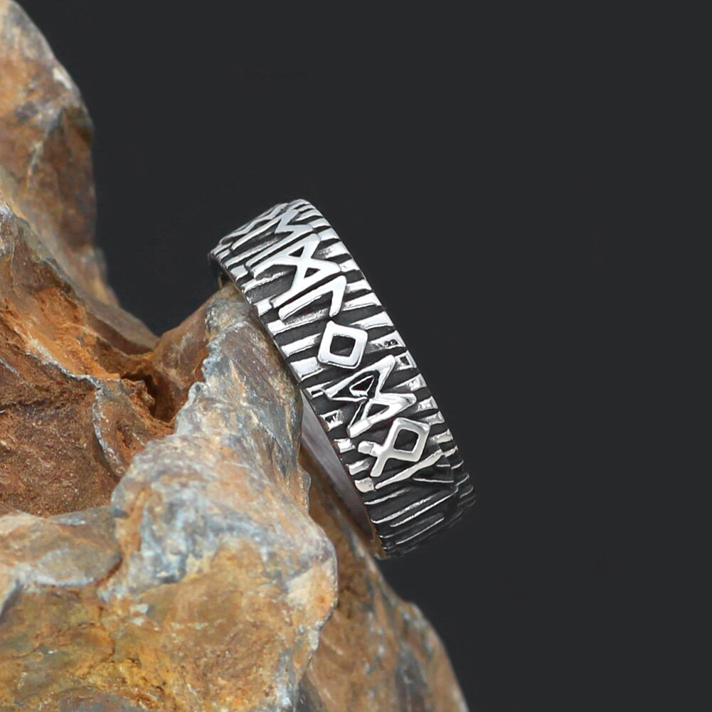 Rune Rings  - Stainless Steel
