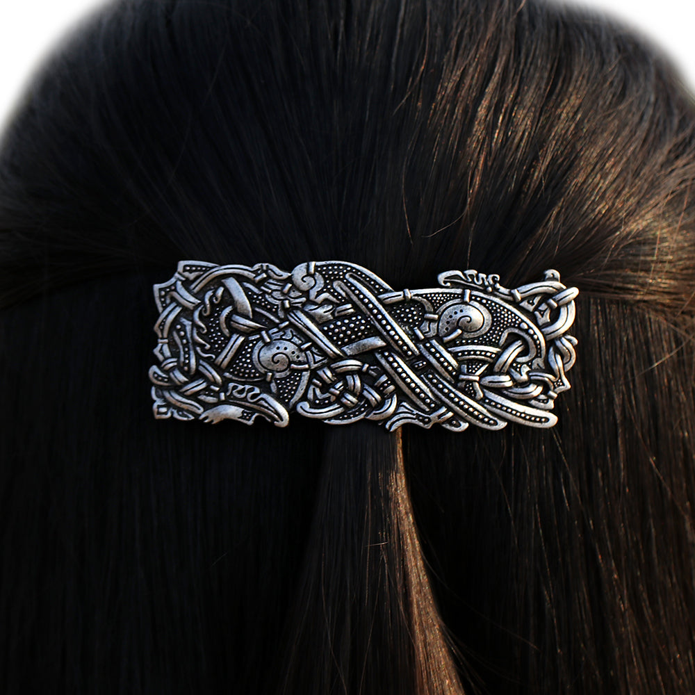 Dragon Barrette Celtics Knots Hair Clip