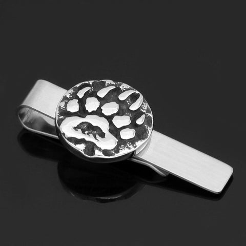 Image of Bear paw Tie Clips