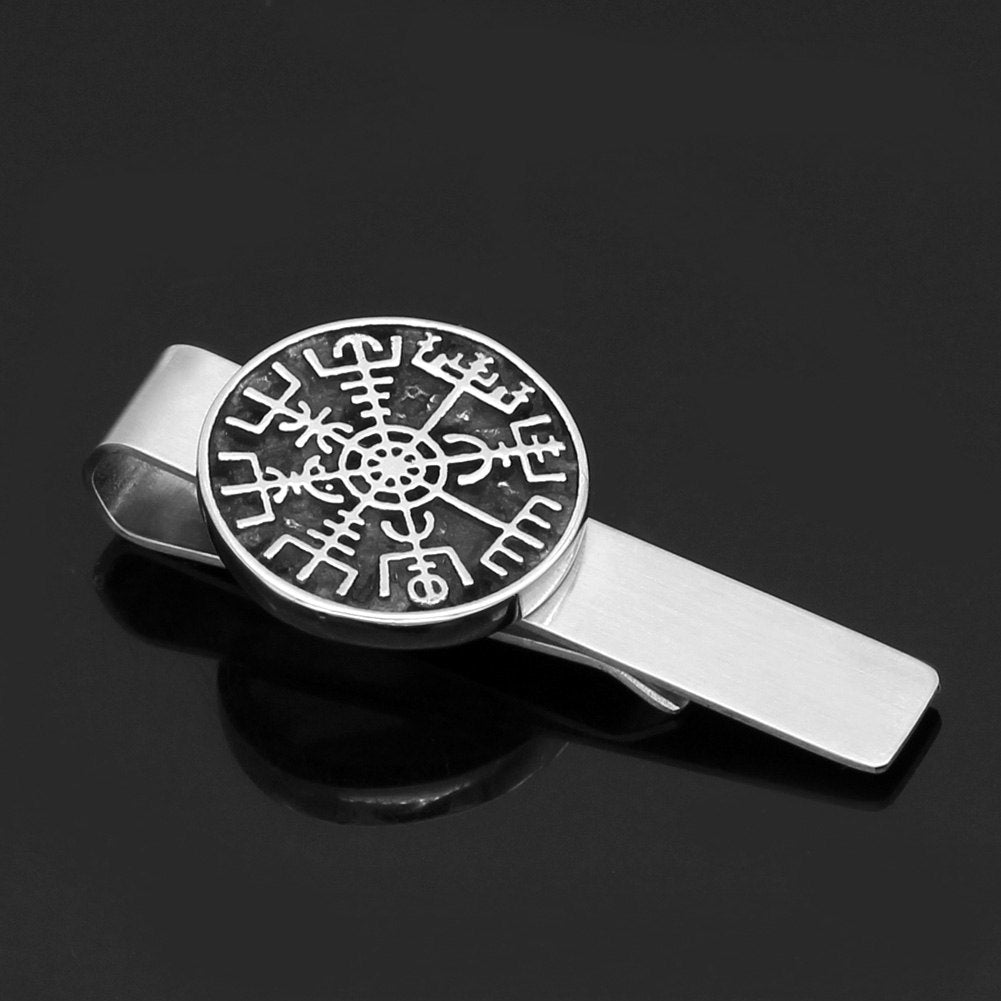 compass  Tie Clips