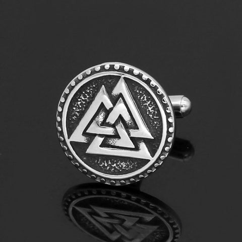 Image of Valknut  Cufflinks