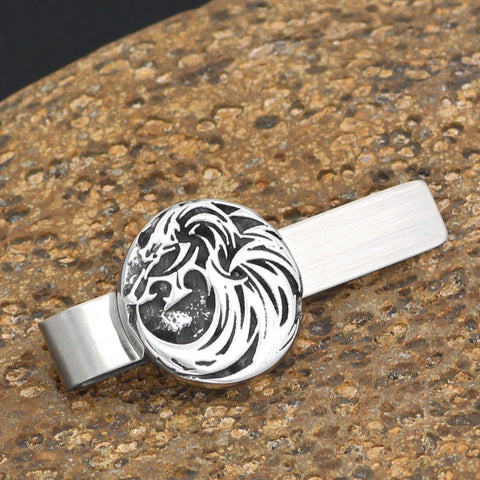 Image of wolf  rune Tie Clips