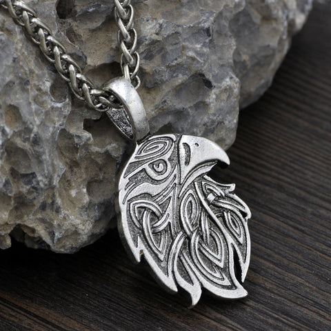Image of raven necklace