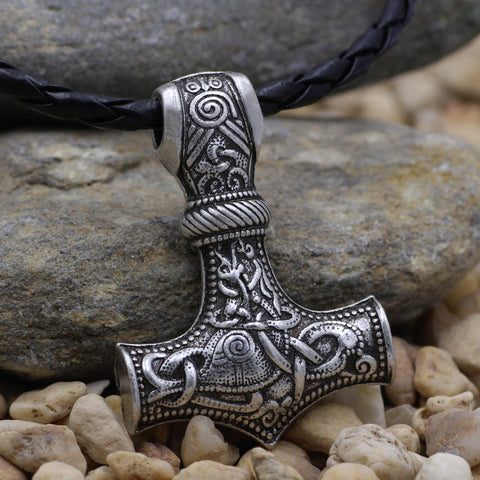 Image of mjolnir necklaces