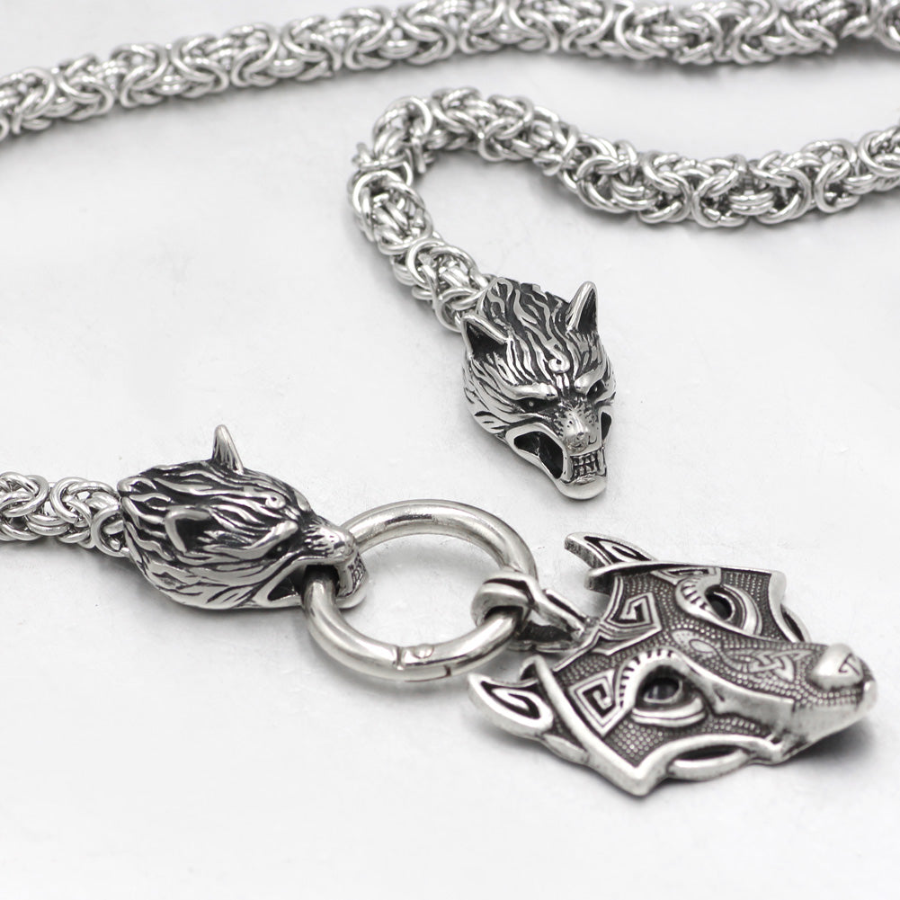 mjolnir stainless steel necklace